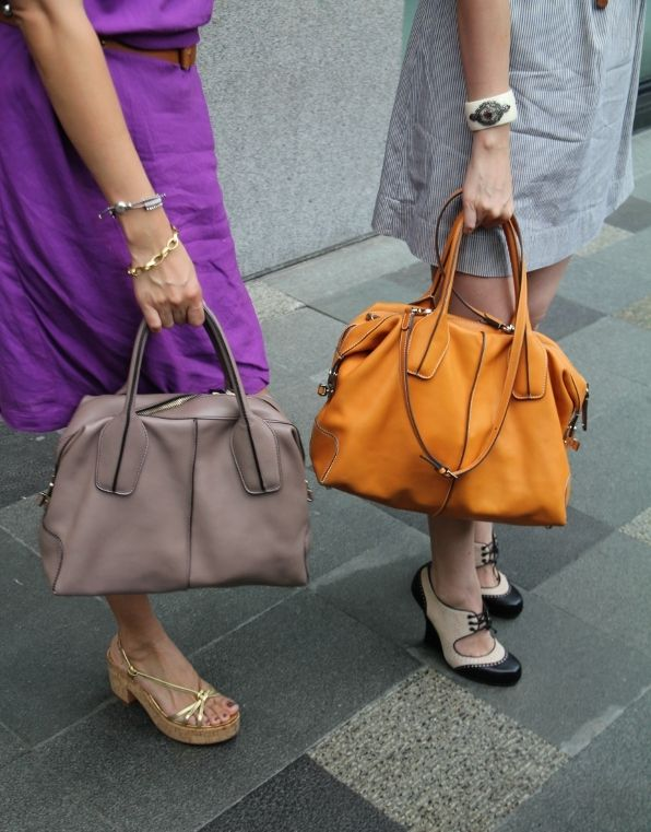 D bags by Tod's. Yes!!!