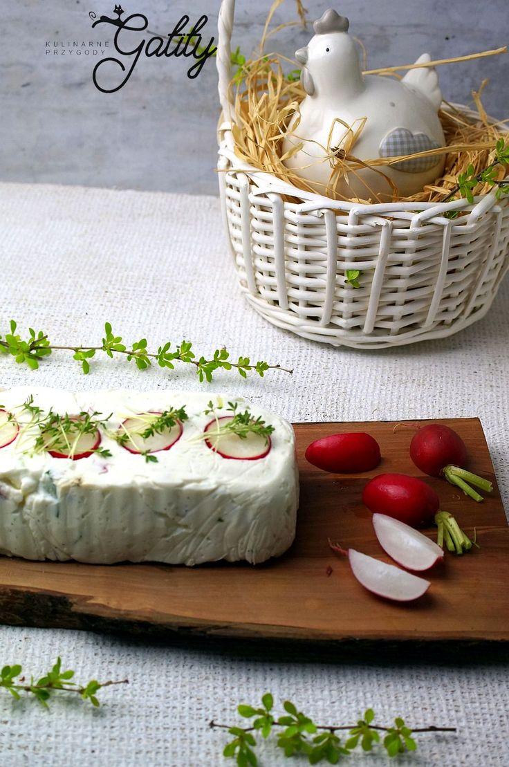 Kulinarne przygody Gatity - przepisy pełne smaku: Wielkanocna terrina z rzodkiewką