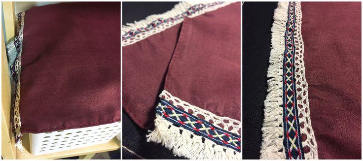 編織緞帶防塵布