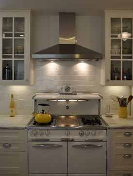 1950s Vintage Wedgewood Stove traditional kitchen - stainless steel hood
