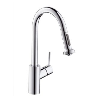 Hansgrohe Talis S² Variarc single lever kitchen mixer with pull-out spray
