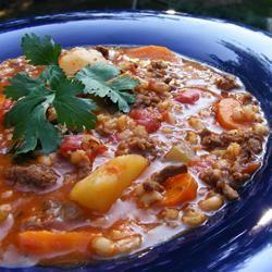 Hearty Hamburger Soup Allrecipes.com