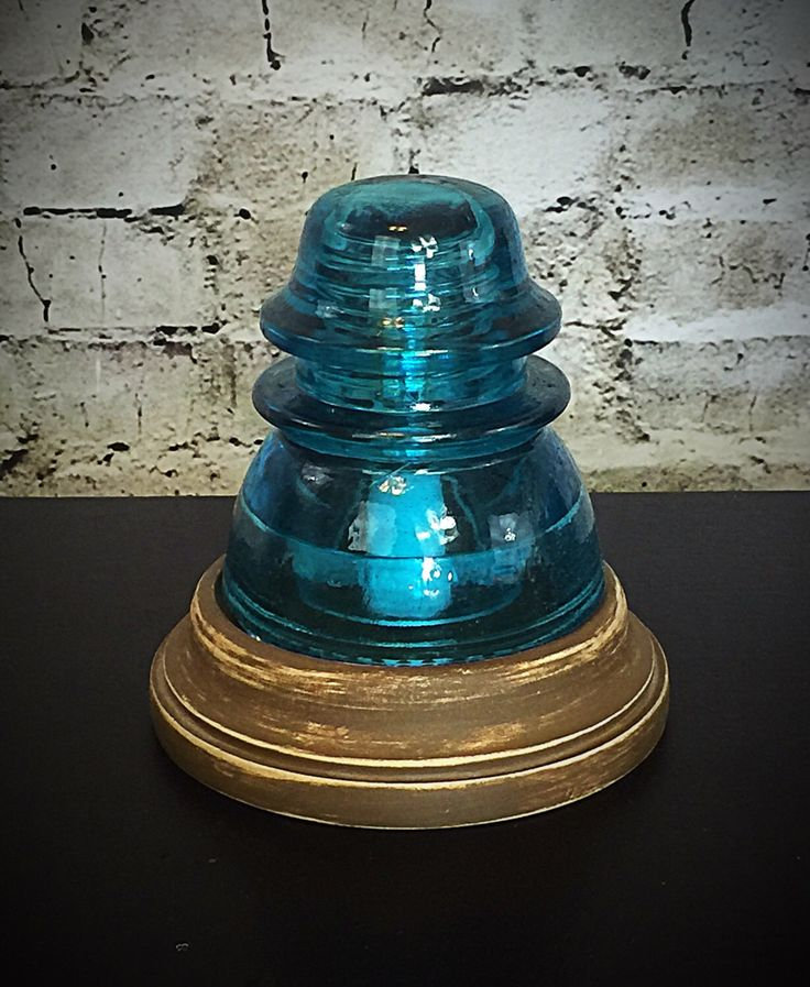20 best glass insulator lamps images on pinterest glass for Glass insulator ideas