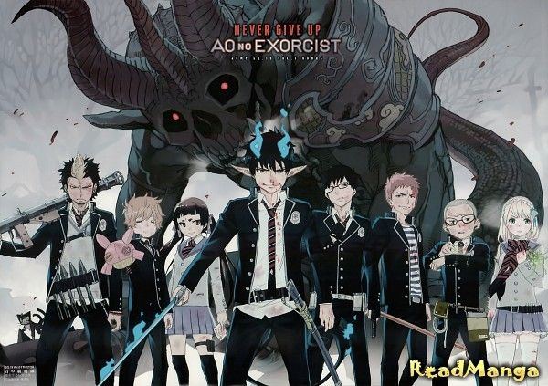 manga Синий Экзорцист (Blue Exorcist: Ao no Ekusoshisuto). Като Кадзуэ