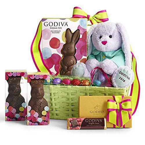 Godiva Chocolatier Bunny Delights Easter Basket - http://mygourmetgifts.com/godiva-chocolatier-bunny-delights-easter-basket/
