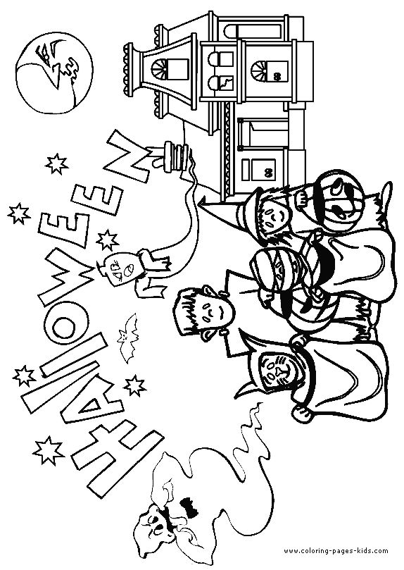 halloween color page holiday coloring pages color plate coloring color