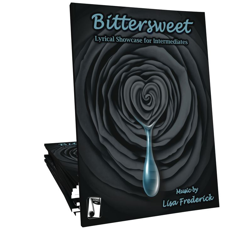 Bittersweet is a dramatic contemporary lyrical solo composed by Canadian composer Lisa Frederick. This minor-key showcase piece will delight late-intermediates of all ages!