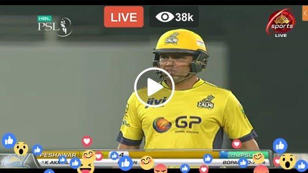 Watch Live Cricket PSL 2018 Quetta Gladiators vs Peshawar  Zalmi 10th T20 Live Streaming PTV Sports Live at Sharjah Cricket  Association S...
