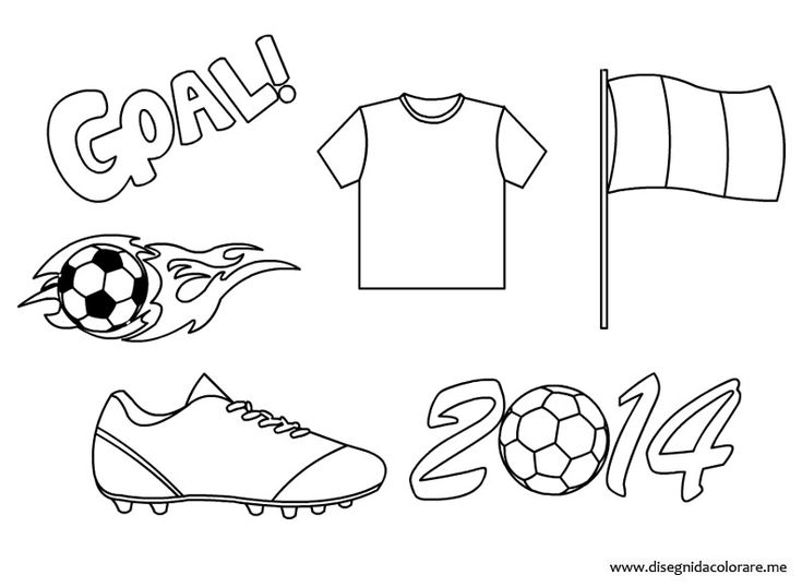 world soccer cup 2014 coloring page