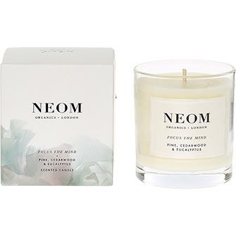 Pine & Cedarwood Scented Candle 185g
