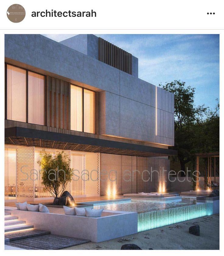 17 best images about sarah sadeq architectes on pinterest mansions villas and landscaping. Black Bedroom Furniture Sets. Home Design Ideas