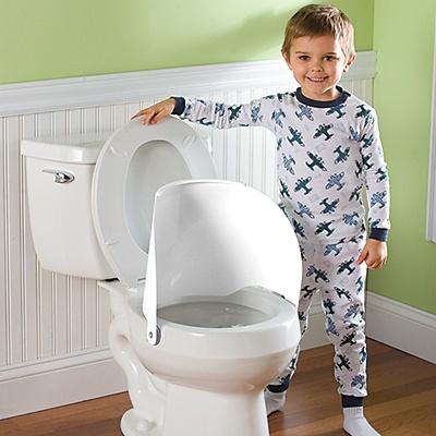 Flippee toilet shield splash guard potty training for Bathroom ideas kid inventions
