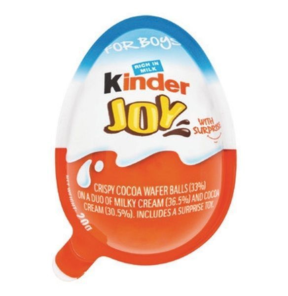 10 X Kinder JOY Surprise Eggs, Ferrero Kinder Choclate Best Gift Toys, for BOY #KinderJOY