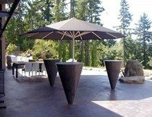 Tables, Cone Tables Outdoor Furniture Buddy Rhodes Concrete Products SF, CA
