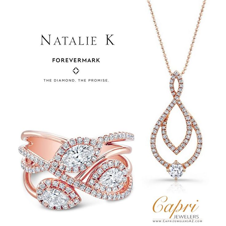Pure Love ✨✨ Natalie K Forevermarkexclusively at Capri Jewelers Arizona ✨✨. View the entire collection at http://www.caprijewelersaz.com/Natalie-K-Fine-Jewelry/38800225/EN