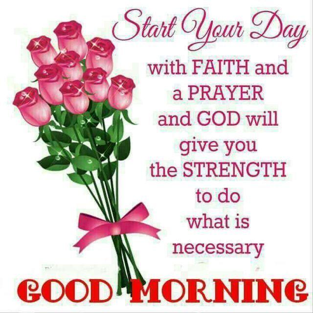 Morning Prayer Good Morning God Bless Your Day