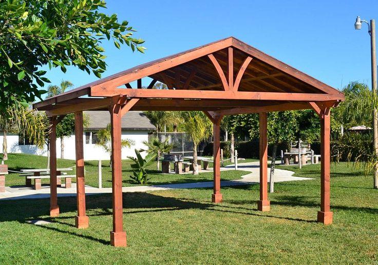 Del Norte Outdoor Kitchen Pavilion Options 22 L X 22