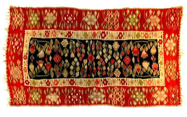 Covor - Muzeul Naţional al Ţăranului Român - BUCUREŞTI (Patrimoniul Cultural National Mobil din Romania. Ordin de clasare: 2594/13.10.2008 - Fond)