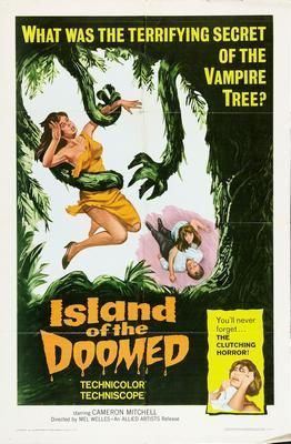 Island Of The Doomed Movie Poster Puzzle Fun-Size 120 pcs