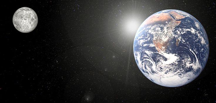 ¿Por qué la Luna se está alejando de la Tierra?