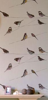 Louise Body Wallprints Garden Birds  Louise Body Wallprints  Garden…