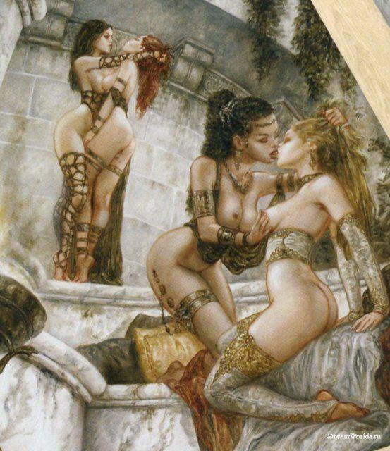 adult fantasy comics harem