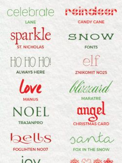 best free christmas fonts beautiful free holiday fonts to make your season merry and bright