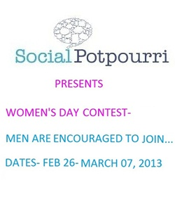 Win exciting gifts if your post is among the top three at www.socialpotpourri.com