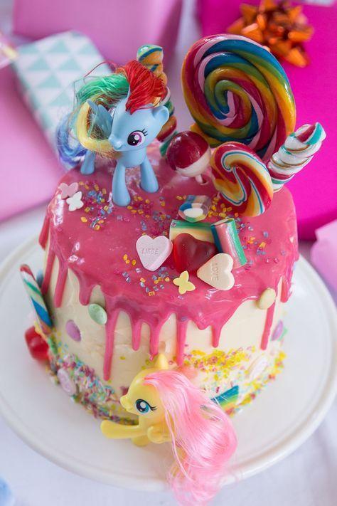 My Little Pony Torte Zum Vierten Geburtstag Kindergeburtstag In