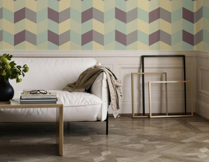25 Best Ideas About Wandgestaltung Wohnzimmer Beispiele On