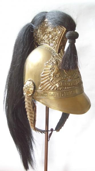 royal irishh dragoons - other ranks helmet