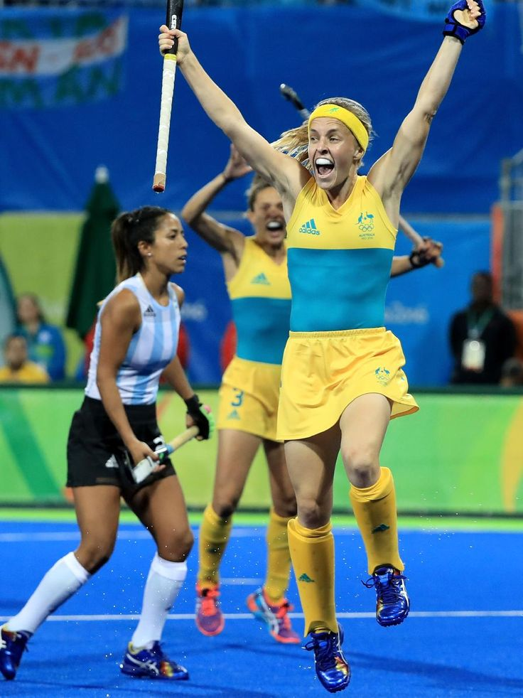 All the Olympic action from day six - Emily Smith #26 of australia reacts to a goal during a Women's Preliminary Pool B match against Argentina at the Olympic Hockey Centre on August 11, 2016 in Rio de Janeiro, Brazil. (Photo by Sam Greenwood/Getty Images)