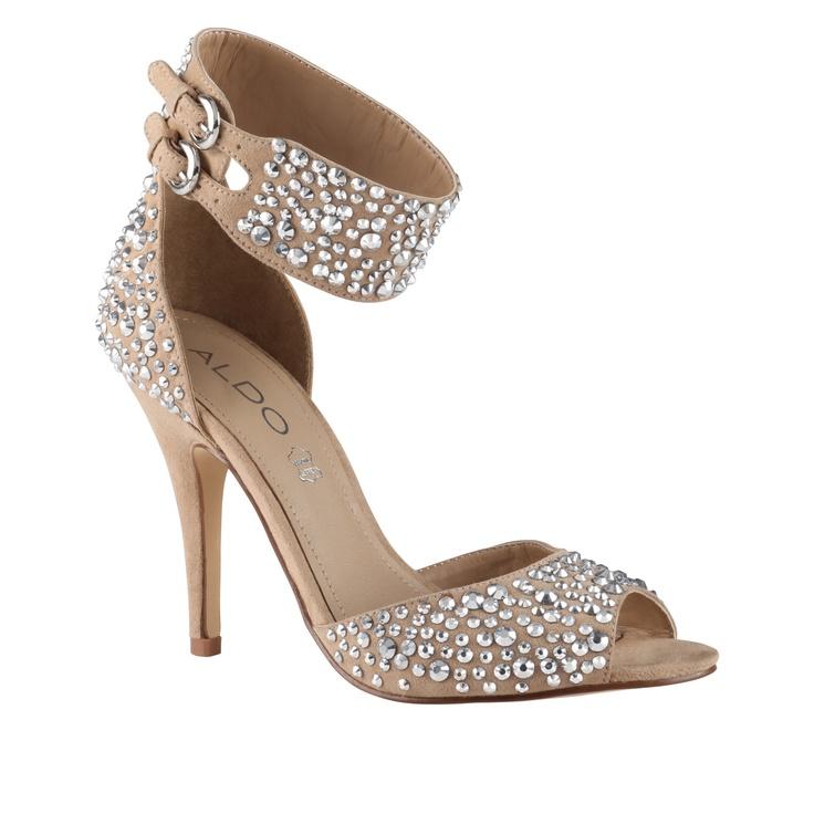 Sparkly Nude Heels | Tsaa Heel