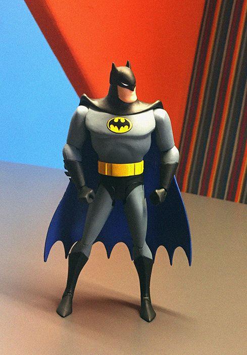 #batmananimatedseries #batmanfigure