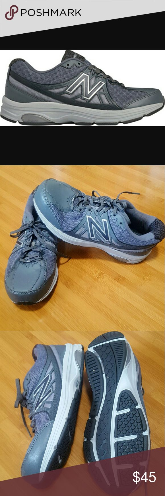 New Balance walking shoes 847v2 size 8.5 Gray New Balance walking shoes size 8.5. Model 847v2. Worn only once. Like new condition. New Balance Shoes Athletic Shoes
