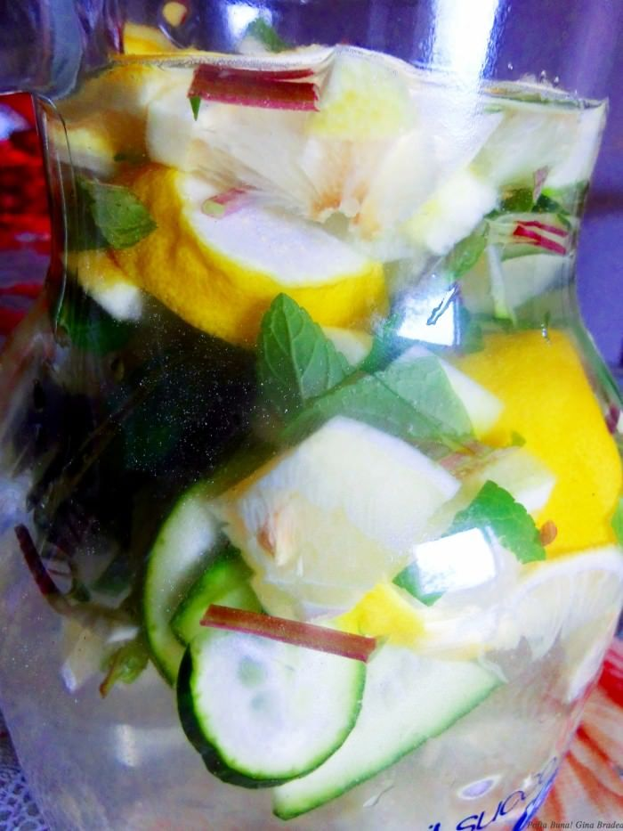 Limonada(apa) hidratanta, detoxifianta, vitaminizanta