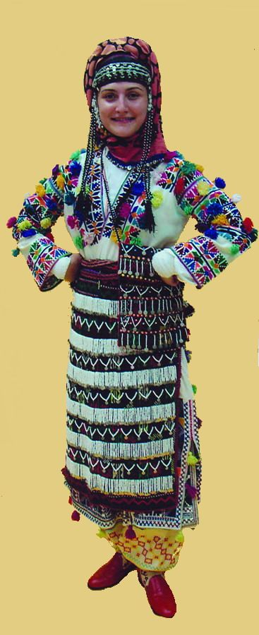 Traditional Costume from Tokat/Turkey