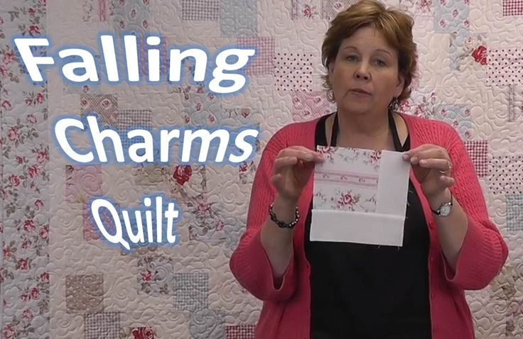 Falling Charms Quilt Tutorial - Quilting With Charm Packs (+playlist)