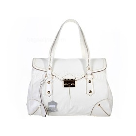 Louis Vuitton Suhali leather L'Absolu - White M95849 $199.00  www.bagsaline.com