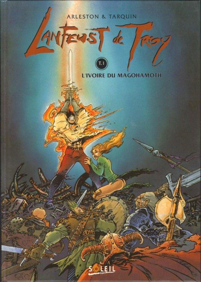 Lanfeust de Troy: Du Héroïc Fantasy qui s'assume et en rigole. Une fin en queue de poisson qui n'enlève toutefois pas le plaisir de la lecture.