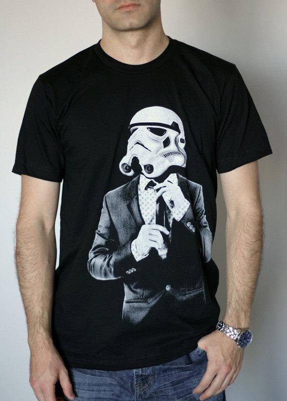 Smarttrooper  Mens t shirt / Unisex t shirt   Star by ironspider, $23.00