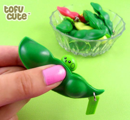 Endless Edamame Popping Soybean Pod | Flickr - Photo Sharing!