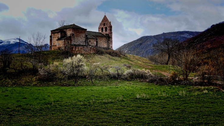 The little church of Babia (Spain)