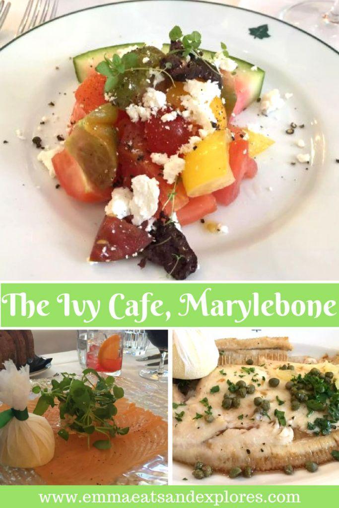 The Ivy Cafe, Marylebone, London by Emma Eats & Explores