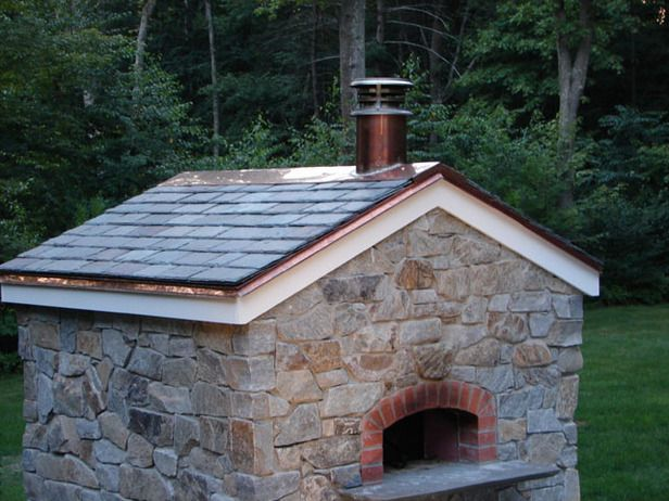 How to build a stone pizza oven