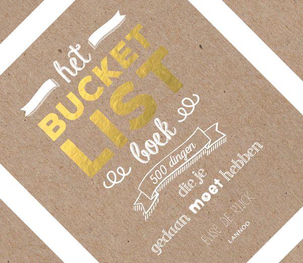 Van kussen onder de Eiffeltoren tot een taart in iemands gezicht gooien, Het Bucketlist Boek van Elise De Rijck staat boordevol dingen - 500 om precies te zijn - die je absoluut ooit moet gedaan hebben.