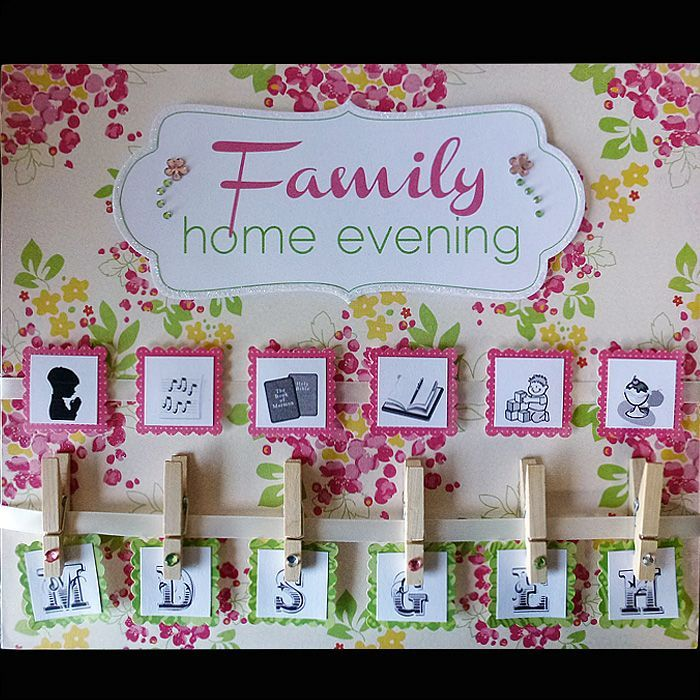 1000 images about family home evening ideas on Pinterest ...