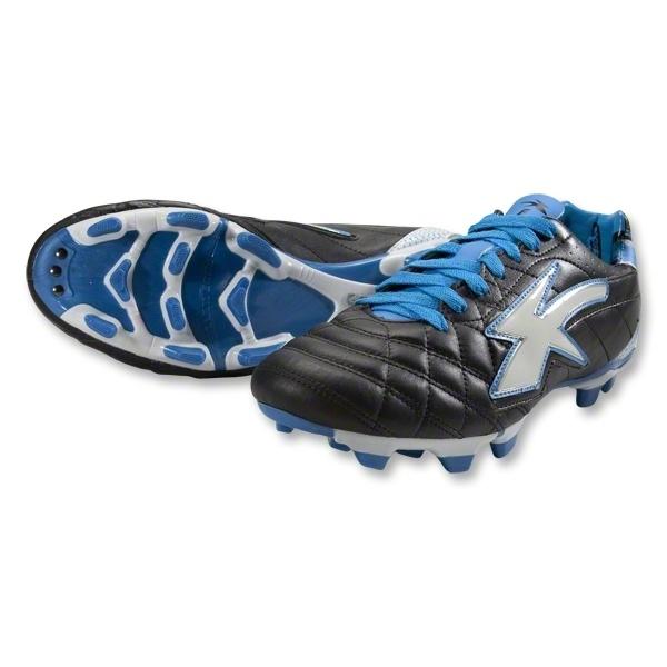 Concord Aston Kangaroo Soccer Shoes (Black/Blue/White)