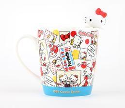 Hello Kitty 40th Anniversary Mug & Stirrer: 1989