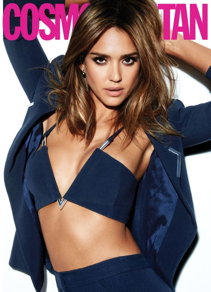 Jessica Alba looks red-hot on the March 2016 cover of Cosmopolitan Magazine, wearing a red jacket, pants and bra top. Photographed by Tesh, the actress turned Honest Company mogul looks fashionable but in charge wearing tailored jackets and dresses. Jessica Alba – Cosmopolitan Magazine March 2016 In her interview, Jessica talks about not being feminine …